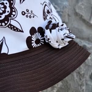 Bucket Hat with Bias Tape Brim