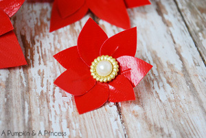Red Duct Tape Poinsettias