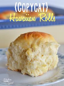 Copycat King's Hawaiian Rolls