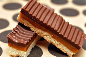 Copycat Twix Bar