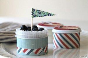 Precious Patriotic Berry Cups