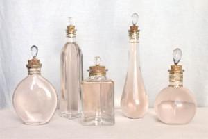 DIY Pretty Perfume Bottles