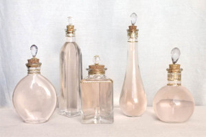 DIY Pretty Perfume Bottles
