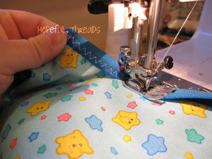 Sewing with Fold Over Elastic