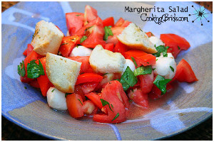 Garden Fresh Margherita Salad