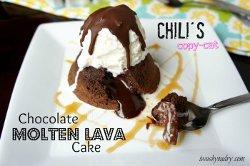 Chili's Copycat Molten Lava Cake