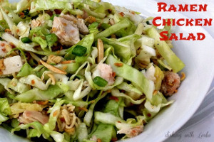 Easy Ramen Chicken Salad