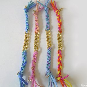 DIY Silk Friendship Bracelet