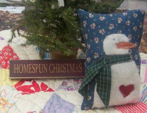 Cutest Snowman Pillow Ever
