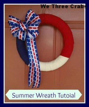 Red, White, and Blue Wreath