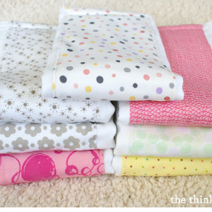 Super Simple Burp Cloth