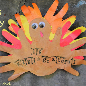 Happy Hands Turkey