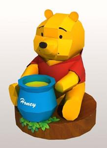Printable Winnie the Pooh Paper Doll