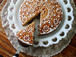 Easy Merryfield Apple Cake
