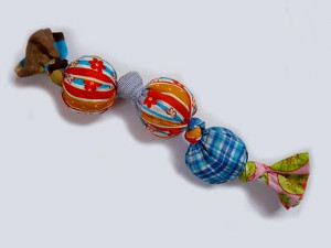 Tug-of-War Dog Toy from Scraps