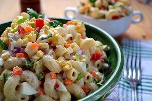 Old Standby Amish Macaroni Salad