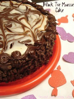 Copycat Olive Garden Black Tie Mousse Cake