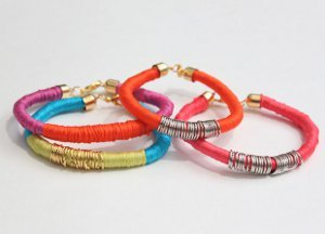 Colorful And Fun DIY Rope Bracelets