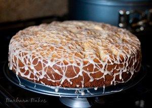 Vintage Italian Apple Cake