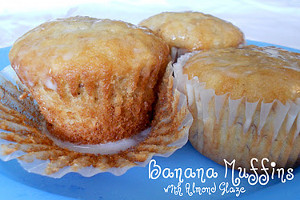Copycat Lion House Banana Bread Muffins