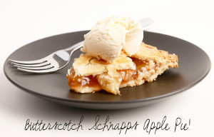 Butterscotch Schnapps Apple Pie