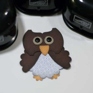 OWL-Fully Cute Paper Punched Owl