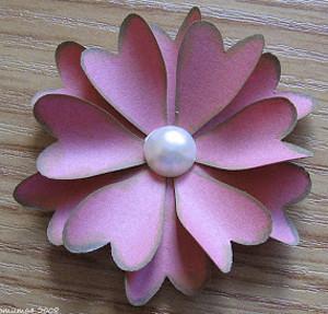 Funky Heart Flower