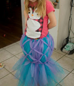 Mystical Mermaid Tail Tutu