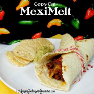 Copycat Taco Bell MexiMelt