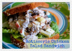 3 Step Rotisserie Chicken Salad