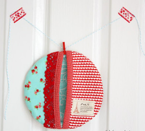 Fat Quarter Pot Holder
