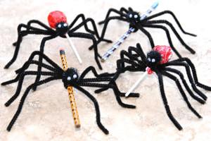 Slinky Spider Treats