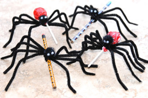 Slinky Spider Treats