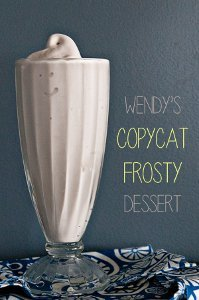 3 Ingredient Copycat Wendy's Frosty