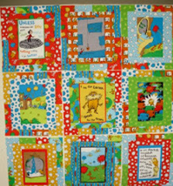The Lorax Panel Quilt
