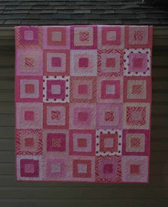 Ragged Squares Quilt