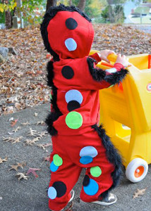 No Sew Monster Costume