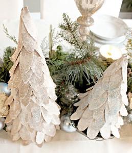 Classy Cardboard Christmas Trees