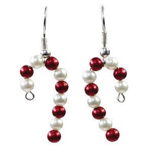 http://www.allfreejewelrymaking.com/Jewelry-for-Holiday/Quickie-Candy-Cane-Earrings-from-Prima-Bead