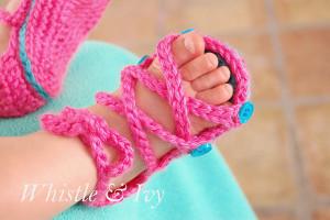 Gladiator Baby Sandals
