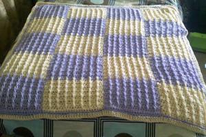 Macaroon Crochet Blanket