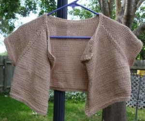 Dusty Rose Cardi Shrug