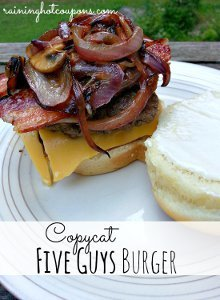 Copycat Five Guys Burger