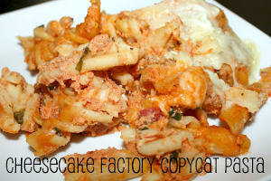 Cheesecake Factory Copycat Four Cheese Pasta