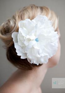 Simple Flower Hair Clip