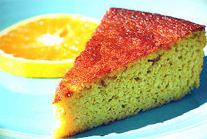 Homemade Starbucks Orange Cake
