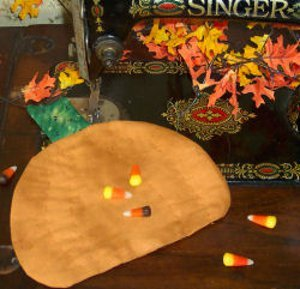 One Hour Pumpkin Hot Pad