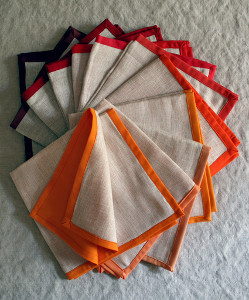 Colorful Thanksgiving Napkins