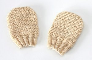 Nubby Newborn Mitts