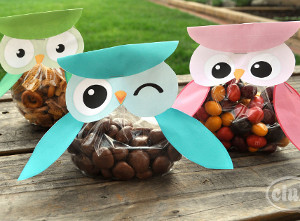Free Printable Owl Treat Pouch